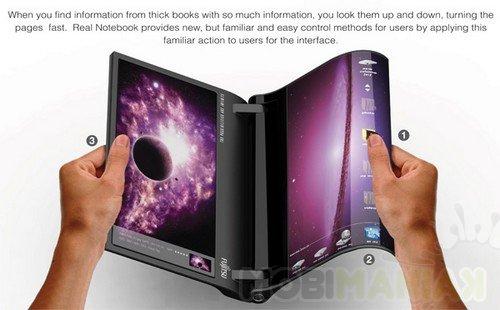 Lepsze niż Kindle? (fot. Yanko Design)