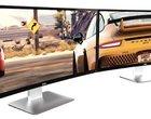 """format 21:9 przekątna ekranu 34"""" rozdzielczość 3440x1440 pikseli wejście DisplayPort wejście HDMI"""