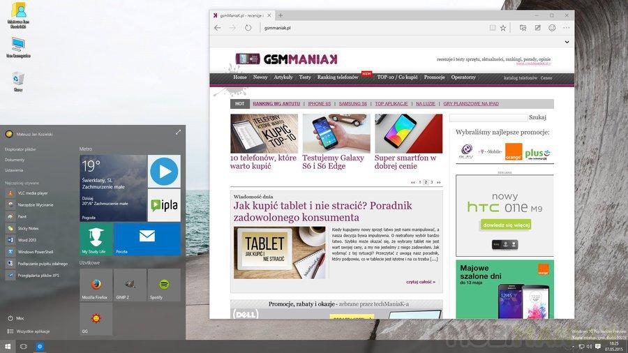 Microsoft Edge /fot. mobiManiaK.pl