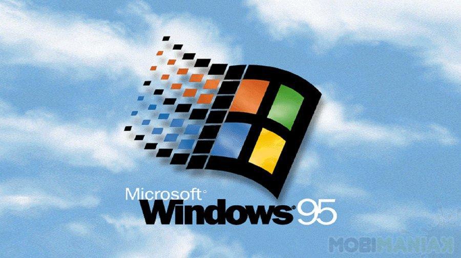 Windows 95 Logo / fot. Microsoft