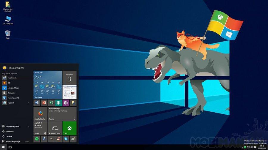 Windows 10_dino