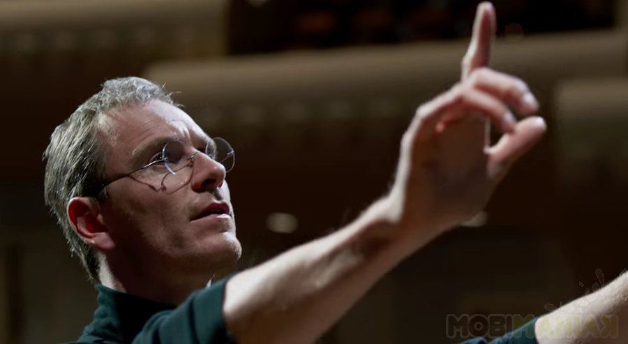 Michael Fassbender w roli Steve'a Jobsa