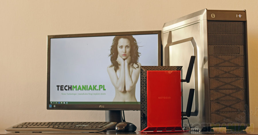 Netgear WiFi Range Extender EX6200 / fot. mobiManiaK.pl