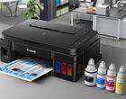 Nowe drukarki od Canona ze stałym zasilaniem w tusz
