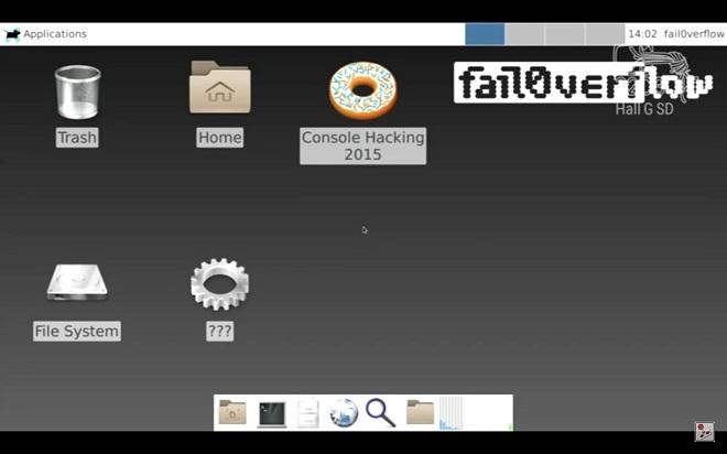 Zhakowane PS4 / fot. fail0verflow