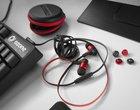 słuchawki dokanałowe sprzęt dla gracza
