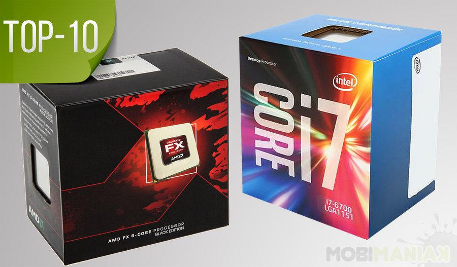 Najlepsze procesory top