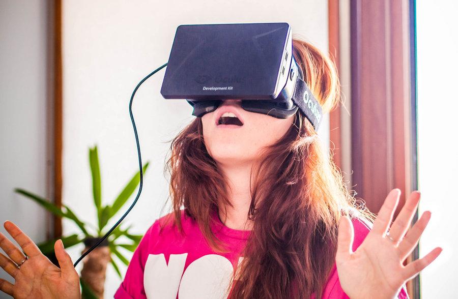Oculus Rift / fot. Sergey Galyonkin, Flickr.com