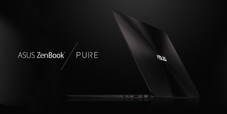 ASUS ZenBook Pure / fot. Sweclockers