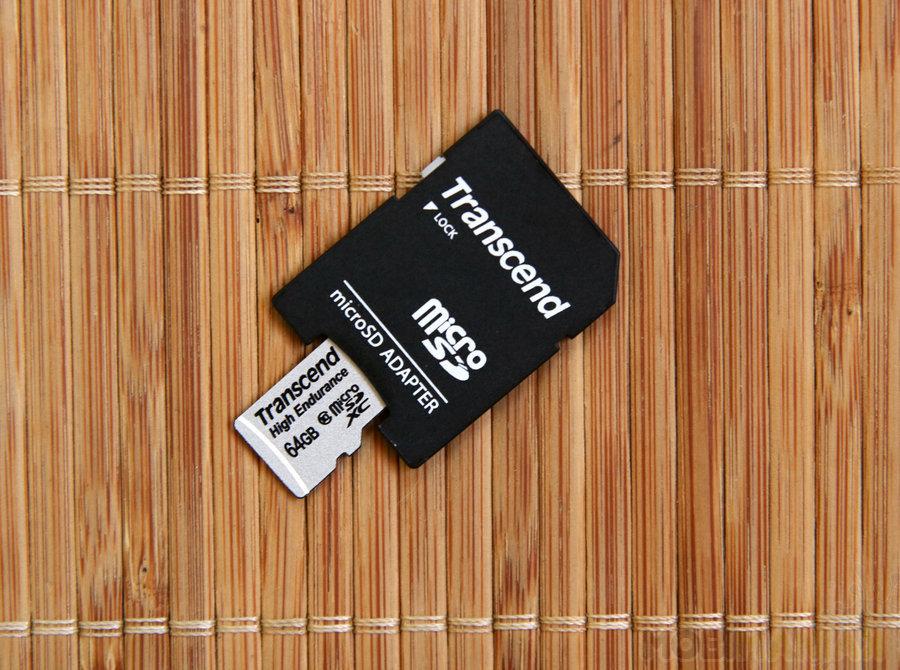 Transcend High Endurance MicroSDXC 64GB (TS64GUSDXC10V) / fot. mobiManiaK.pl