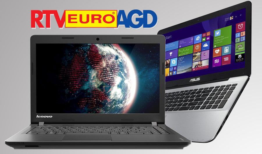 TOP laptopy w EURO