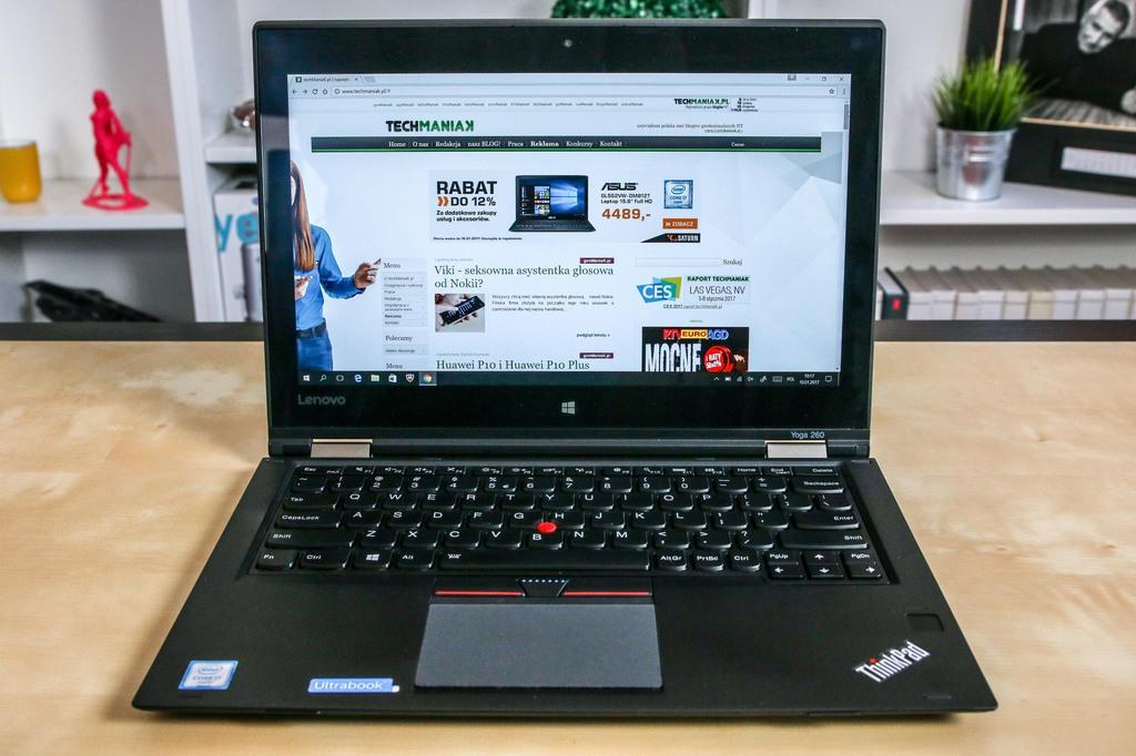 Lenovo ThinkPad Yoga 260 / fot. mobiManiaK.pl