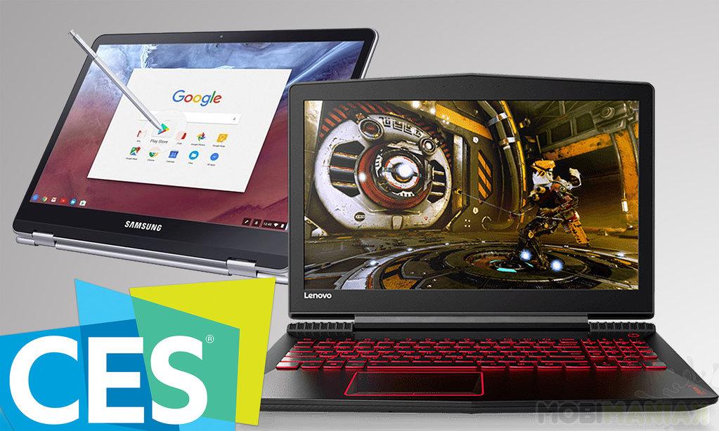 Laptopy ces 2017