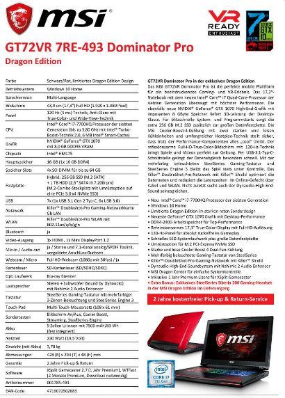 MSI GT72VR Dragon Edition 1 9