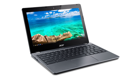 Wcześniejsza wersja Chromebooka - Acer Chromebook 11 C740 / fot. Acer
