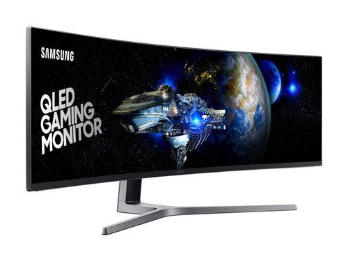 Samsung Chg90 Największy Zakrzywiony Monitor Na świecie