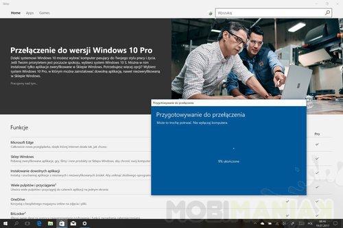 Microsoft Windows 10 S / fot. mobiManiaK.pl