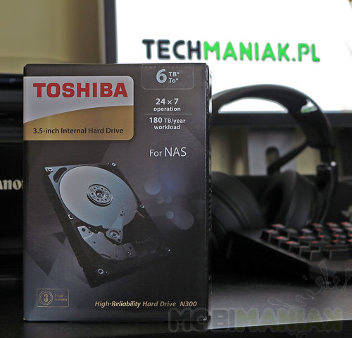 Toshiba N300 / fot. mobiManiaK.pl