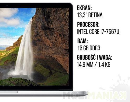Specyfikacja MacBook Pro 13