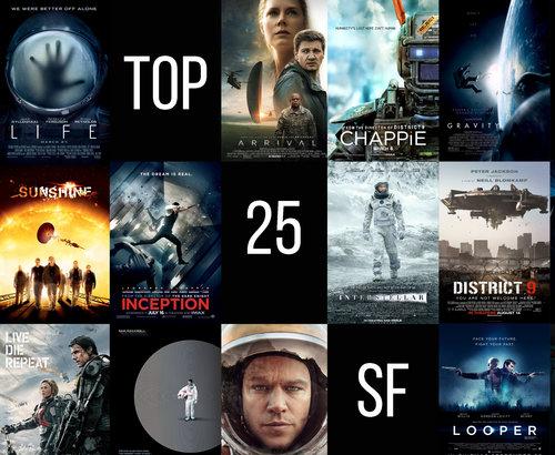 TOP filmy SF