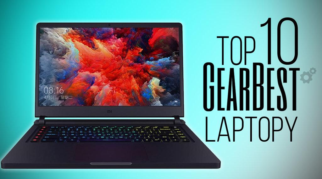 Gearbest TOP10 laptopy
