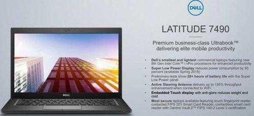 Dell Latitude 7490/ fot. Dell
