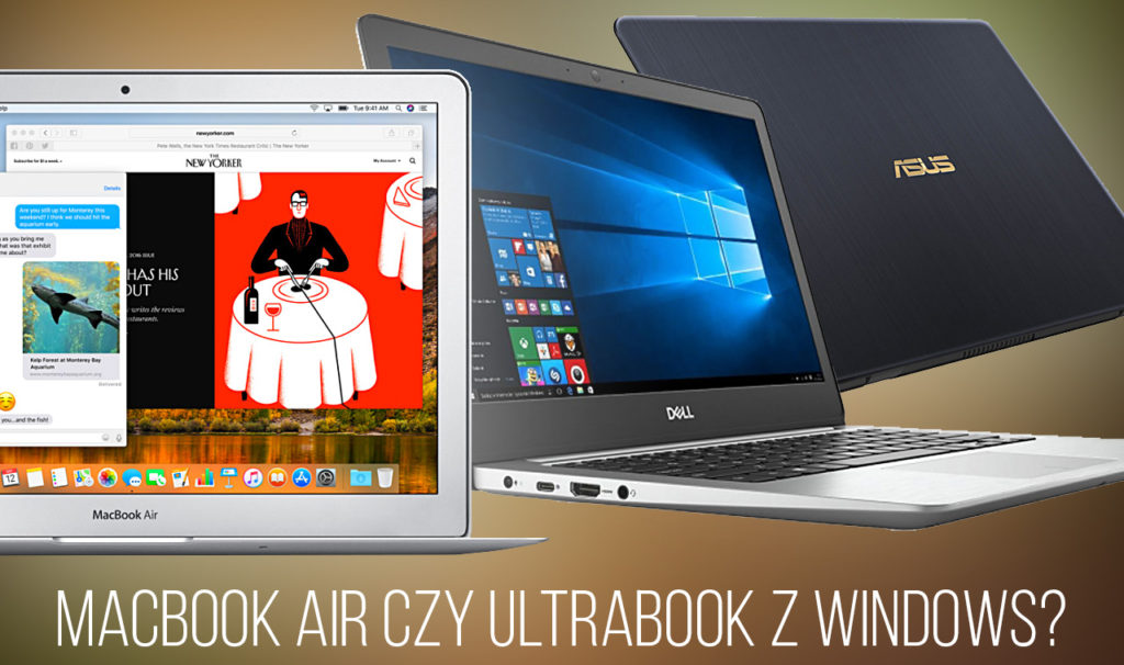 MacBook Air vs ultrabook z Windows