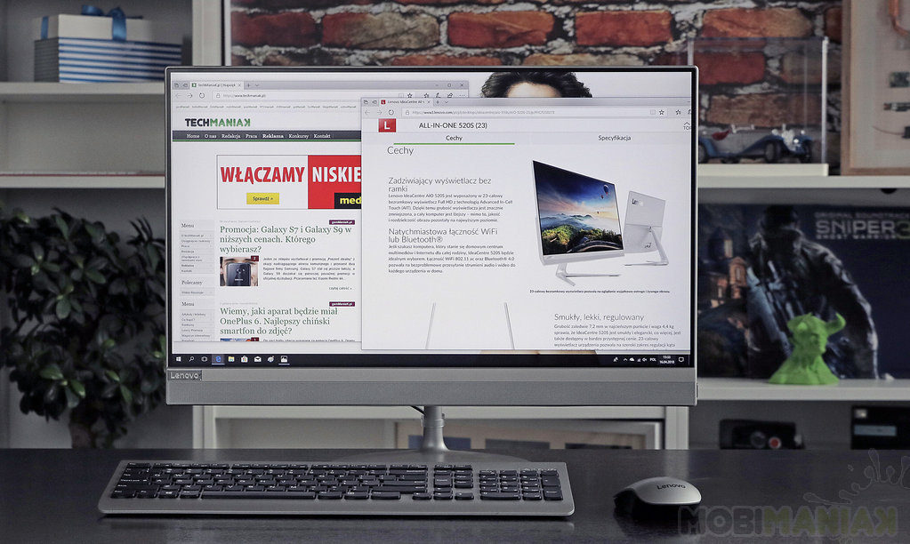 Lenovo Ideacentre 520 / fot. techManiaK.pl