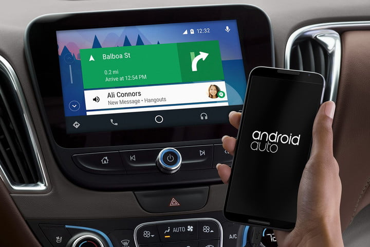 Android Auto / Foto: digitaltrends.com