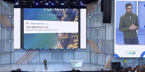 Asystent Google I/O / Foto: Google