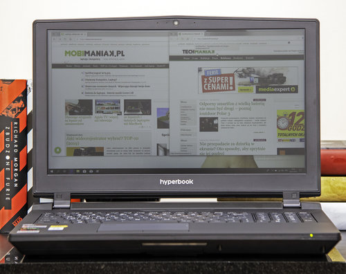 Hyperbook X15 VR4 / fot. techManiaK.pl