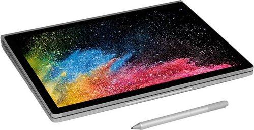 Microsoft Surface Book 2 z dodatkowym akcesorium / fot. Microsoft