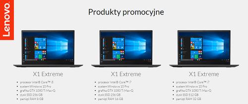 ThinkPad X1 Extreme-modele biorące udział w promo / fot. Lenovo