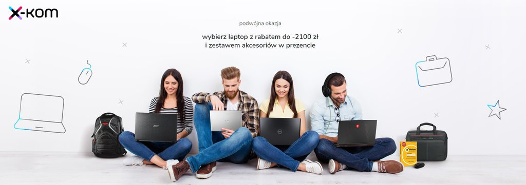 Tydzień laptopów w Xkom / fot. X-kom