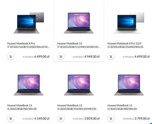 laptopy huawei promocja xkom