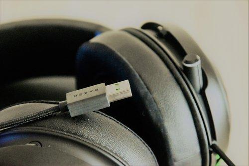 Razer Kraken Ultimate: USB / fot. techManiaK