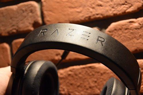 Razer Kraken Ultimate: detal wykończenia / fot. techManiaK
