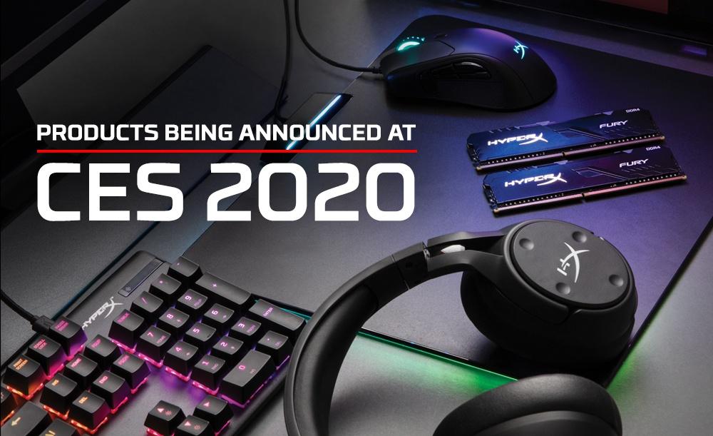 HyperX na CES 2020 / fot. HyperX