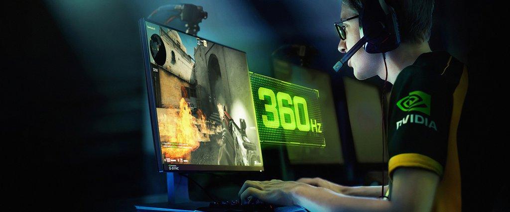 NVIDIA G-SYNC 360 Hz / fot. NVIDIA