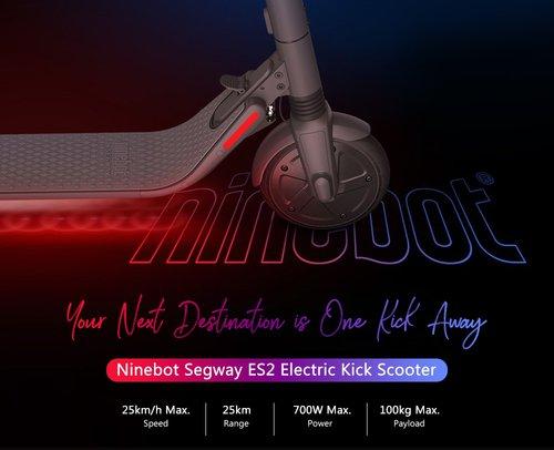 Ninebot Segway ES2 / fot. Ninebot