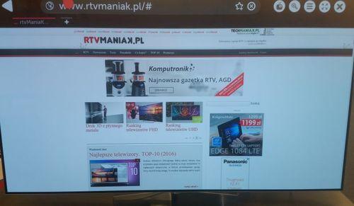LG 65B6J / fot. rtvManiaK