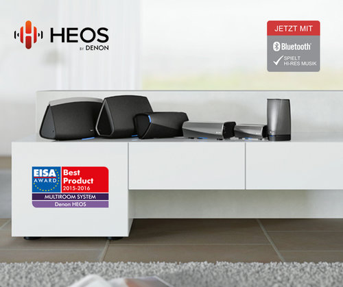 HEOS by Denon z rozszerzonymi możliwościami bezprzewodowego system multiroom / fot. Facebook