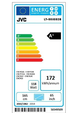 JVC LT-65VU83B / fot JVC