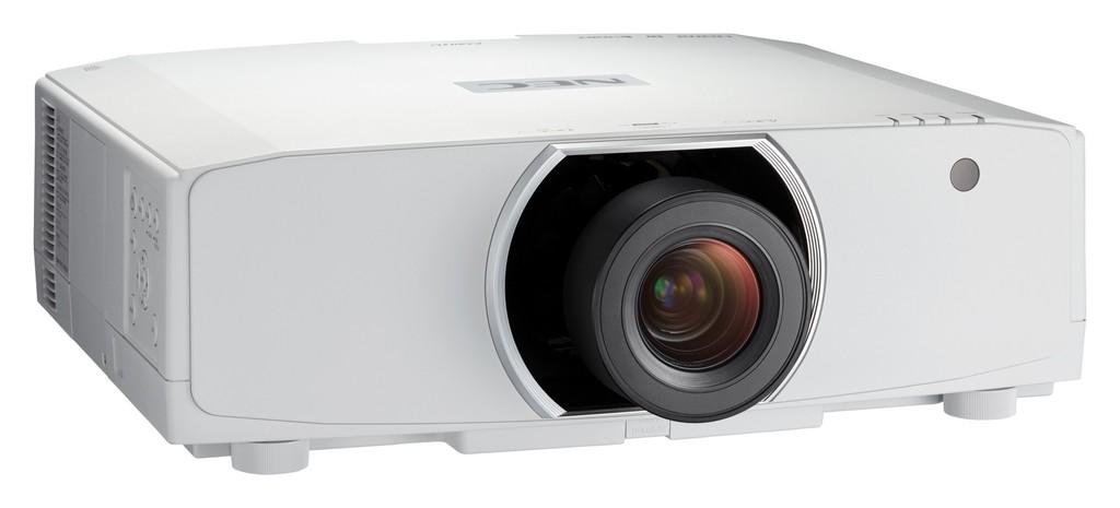Nowe modele projektorów instalacyjnych NEC z serii PA