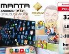 Manta LED9320E1S: 32-calowy TV z Androidem
