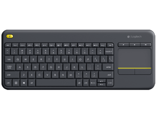 Logitech Wireless Touch Keyboard K400 Plus / fot. Logitech