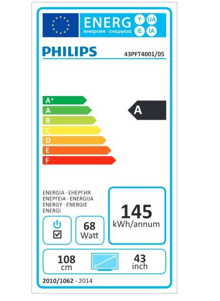 Philips 43PFT4001 / fot. Philips