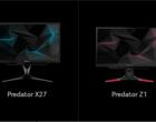 Acer Predator X27 i Z271UV - zaawansowane monitory dla gracza