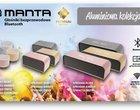 Manta wprowadza kolekcję aluminiowych głośników Bluetooth