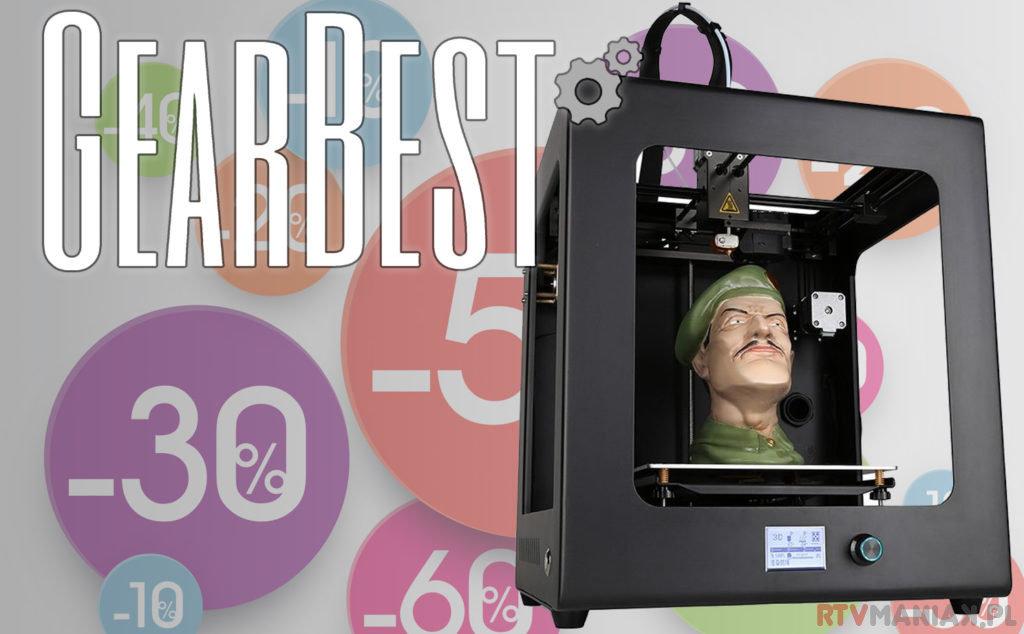 promocja drukarki 3d gearbest